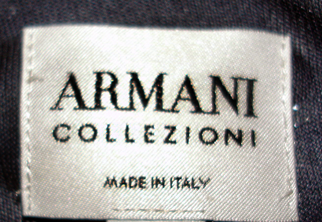 armani, designer label, fashion