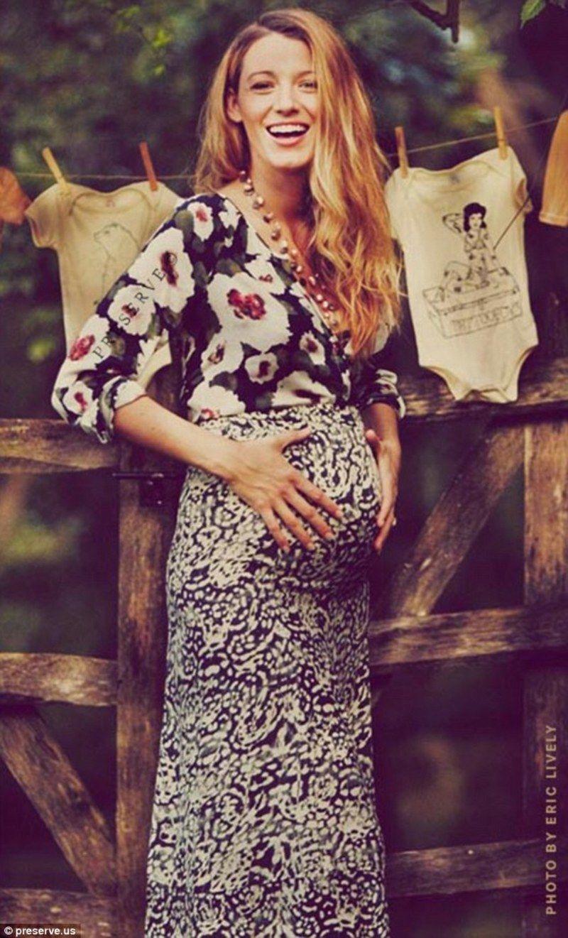 Blake Lively, Fashion, Style, Trends, Maternity Fashion  - Fashion Icon: Blake Lively