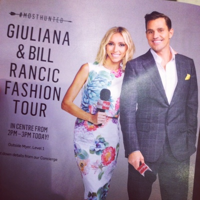 Giuliana and Bill Rancic, Fashion, Style, Westfield, Westfield Fountain Gate