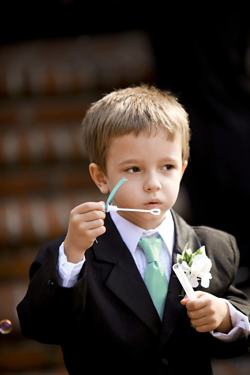 flower girl  - Get Creative with Kids on Your Wedding Day